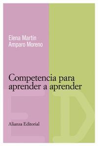 Libro COMPETENCIA PARA APRENDER A APRENDER