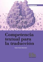 Libro COMPETENCIA TEXTUAL PARA LA TRADUCCION