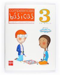 Libro COMPETENCIAS BASICAS 3º PRIMARIA