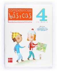 Libro COMPETENCIAS BASICAS 4º PRIMARIA