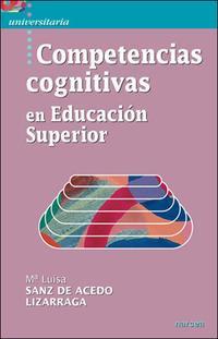 Libro COMPETENCIAS COGNITIVAS EN EDUCACION SUPERIOR