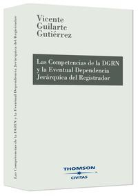 Libro COMPETENCIAS DIRECCION GENERAL DE REGISTROS Y DEL NOTARIO