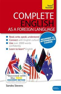 Libro COMPLETE ENGLISH AS A FOREIGN LANGUAGE BEGINNER TO INTERMEDIATE COURSE