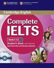 Libro COMPLETE IELTS BANDS 5-6.5 B2 STUDENT PK