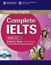 Libro COMPLETE IELTS BANDS 5-6.5 B2 STUDENT/CD ROM