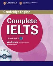Libro COMPLETE IELTS BANDS 5-6.5 B2 WORKBOOK KEY/CD
