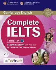 Libro COMPLETE IELTS BANDS 5-6.5 STUDENT S BOOK WITH ANSWERS, CD-ROM & TESTBANK