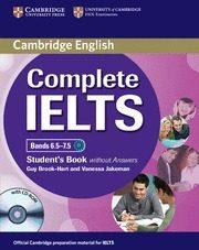 Libro COMPLETE IELTS BANDS 6.5-7.5 STUDENT / CD ROM
