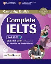 Libro COMPLETE IELTS BANDS 6.5-7.5 STUDENT S BOOK WITH ANSWERS, CD-ROM & TESTBANK
