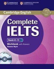 Libro COMPLETE IELTS BANDS 6.5-7.5 WORKBOOK KEY/CD
