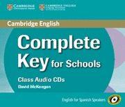 Libro COMPLETE KEY FOR SCHOOLS FOR SPANISH SPEAKERS CLASS AUDIO CDS