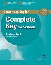 Libro COMPLETE KEY FOR SCHOOLS TEACHER S BOOK