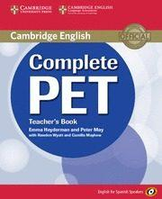 Libro COMPLETE PET FOR SPANISH SPEAKERS