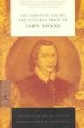 Libro COMPLETE POETRY AND SELECTED PROSE OF JOHN DONNE