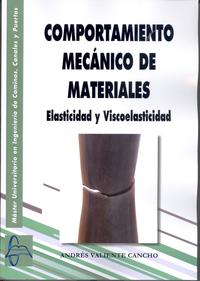 Libro COMPORTAMIENTO MECANICO DE MATERIALES