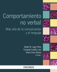 Libro COMPORTAMIENTO NO VERBAL