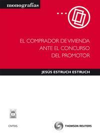 Libro COMPRADOR DE VIVIENDA ANTE EL CONCURSO DEL PROMOTOR