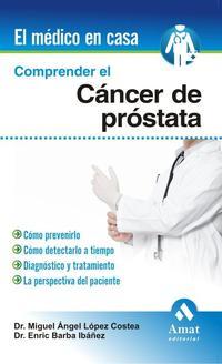 Libro COMPRENDER EL CANCER DE PROSTATA