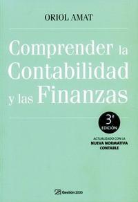 Libro COMPRENDER LA CONTABILIDAD Y LAS FINANZAS