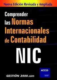 Libro COMPRENDER LAS NORMAS INTERNACIONALES DE CONTABILIDAD