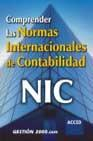 Libro COMPRENDER LAS NORMAS INTERNACIONALES DE CONTABILIDAD NIC