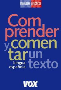 Libro COMPRENDER Y COMENTAR UN TEXTO