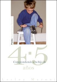 Libro COMPRENDIENDO A TU HIJO DE 4-5 AÑOS