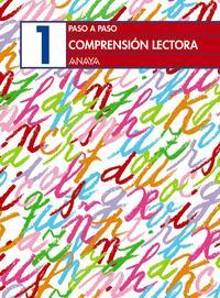 Libro COMPRENSION LECTORA 1 CUADERNO