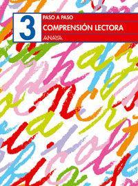 Libro COMPRENSION LECTORA 3