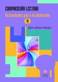 Libro COMPRENSION LECTORA 4 ACTIVIDADES PARA EL ALUMNADO