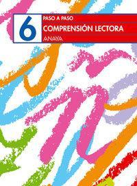 Libro COMPRENSIÓN LECTORA 6