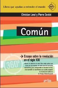 Libro COMUN: ENSAYO SOBRE LA REVOLUCION EN EL S. XXI