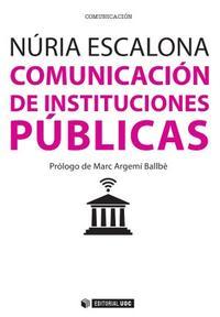 Libro COMUNICACION DE INSTITUCIONES PUBLICAS