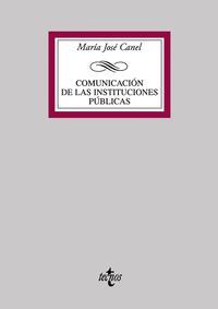 Libro COMUNICACION DE LAS INSTITUCIONES PUBLICAS