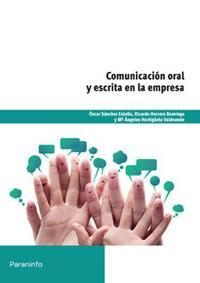 Libro COMUNICACION ORAL Y ESCRITA EN LA EMPRESA
