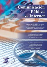 Libro COMUNICACION PUBLICA EN INTERNET