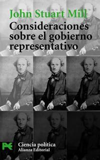 Libro CONSIDERACIONES SOBRE EL GOBIERNO REPRESENTATIVO