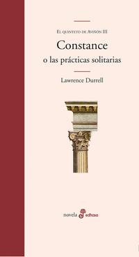 Libro CONSTANCE O LAS PRACTICAS SOLITARIAS