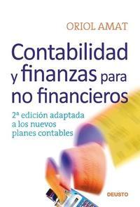 Libro CONTABILIDAD Y FINANZAS PARA NO FINANCIEROS