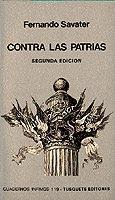 Libro CONTRA LAS PATRIAS