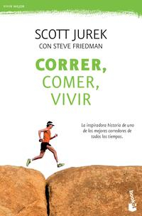 Libro CORRER, COMER, VIVIR