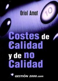 Libro COSTES DE CALIDAD Y DE NO CALIDAD