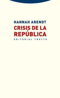 Libro CRISIS DE LA REPUBLICA