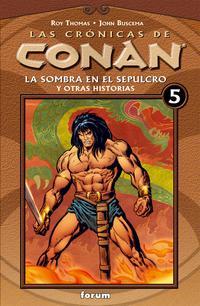Libro CRONICAS DE CONAN Nº 5