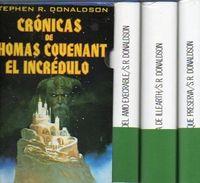 Libro CRONICAS DE THOMAS COUENANT EL INCREDULO