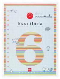 Libro CUADERNO DE ESCRITURA 6; CUADRICULA