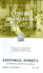 Libro CUATRO COMEDIAS