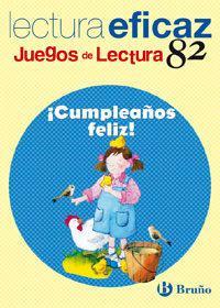 Libro CUMPLEAÑOS FELIZ. JUEGOS DE LECTURA 82