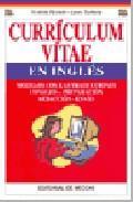 Libro CURRICULUM VITAE EN INGLES: MODELOS CON LAS TRADUCCIONES CONSEJOS -PREPARACION-REDACCION-ENVIO