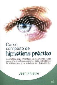 Libro CURSO COMPLETO DE HIPNOTISMO PRACTICO